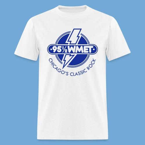 WMET logo (variable color) - Men's T-Shirt