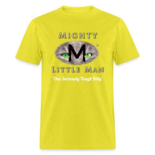 MIGHTY LITTLE MAN Logo - Men's T-Shirt