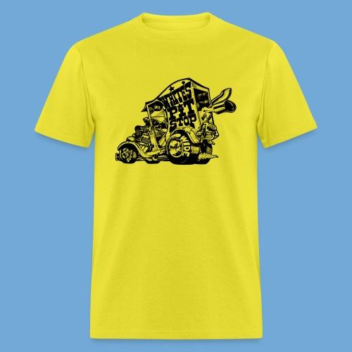 White's Pit Stop - Black - Men's T-Shirt