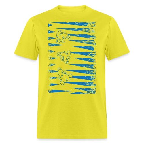 ATV Quad Spike Deco - Men's T-Shirt