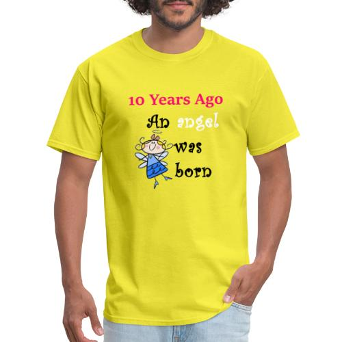 10 the birthday Party Tshirt for parents,family - Men's T-Shirt