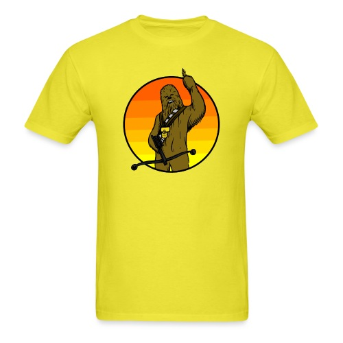 Chewie Gets a Medal - Men's T-Shirt