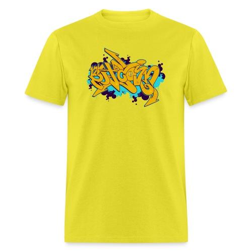 Bitcoin Graffiti Style - Men's T-Shirt