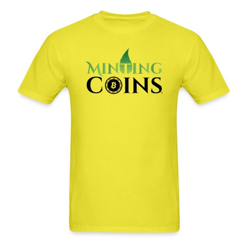Minting Coins - Men's T-Shirt