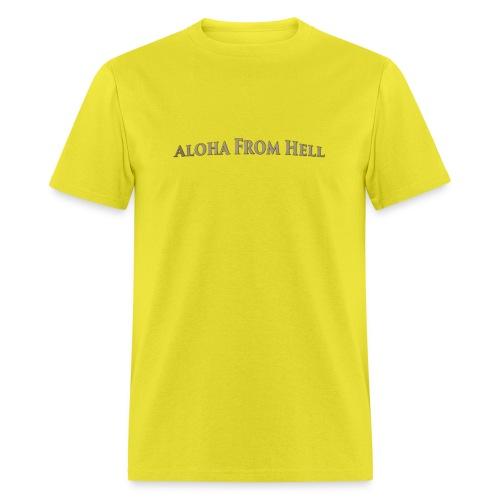 Aloha from hell - Men's T-Shirt