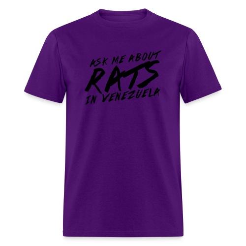 ask me about rats - Men's T-Shirt