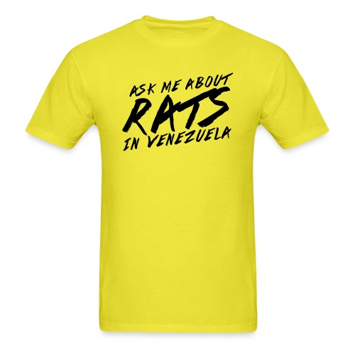 ask me about rats - Men's T-Shirt
