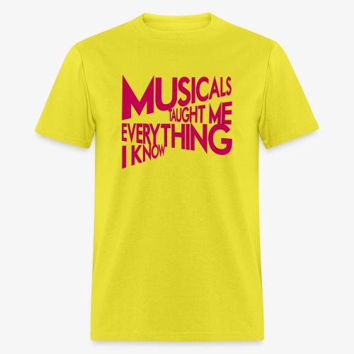 MTMEIK Pink Logo - Men's T-Shirt