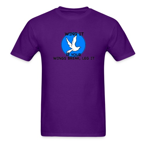Wing it - Men's T-Shirt