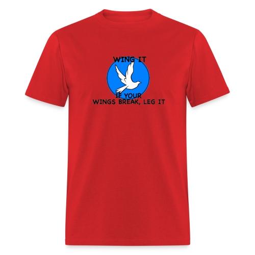 Wing it - Men's T-Shirt
