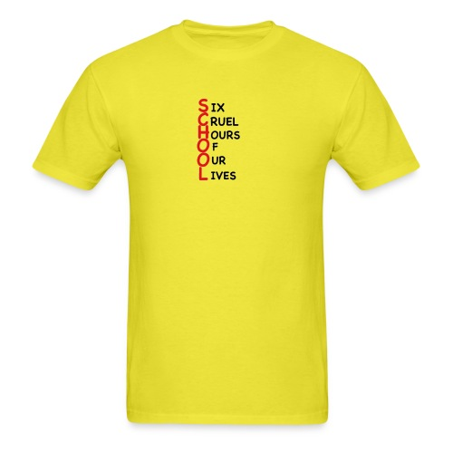 School - Men's T-Shirt