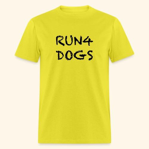 RUN4DOGS NAME - Men's T-Shirt