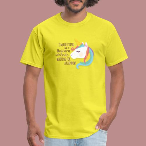 Believing in a Unicorn - Men's T-Shirt