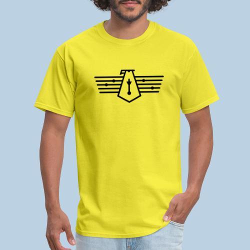 Westport Bird black on transparent - Men's T-Shirt