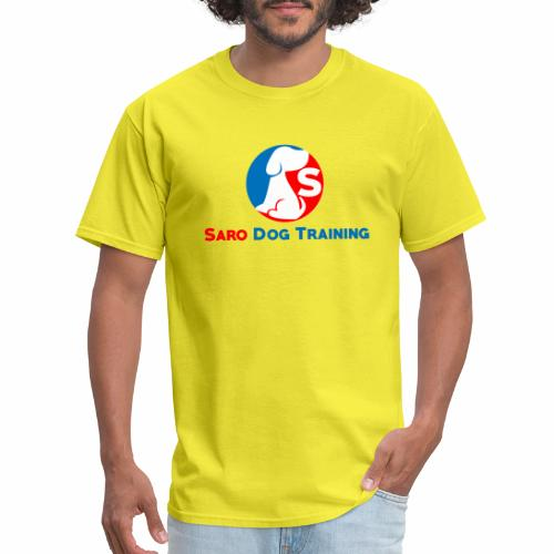 saro dog training logo - Men's T-Shirt