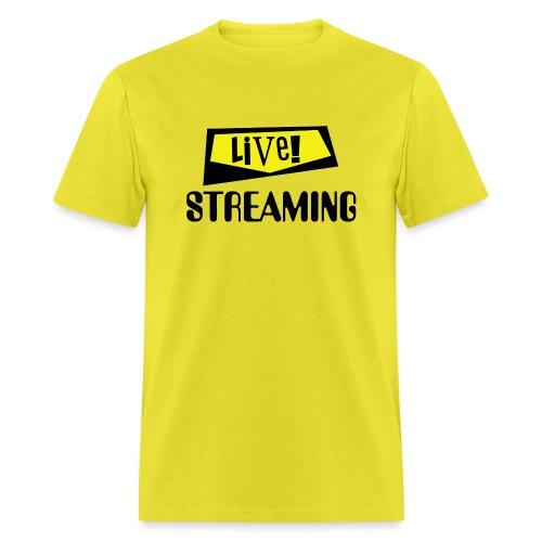 Live Streaming - Men's T-Shirt