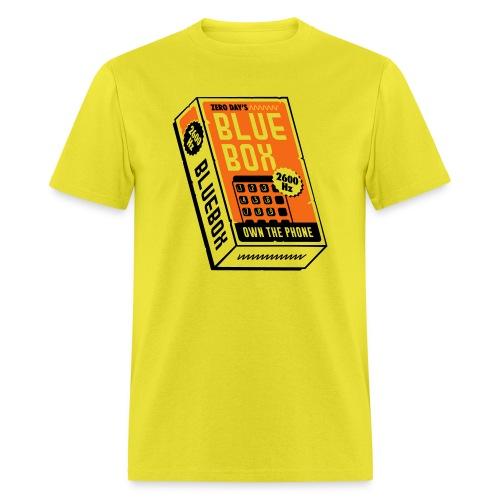 bluebox-new-lightbg_v3 - Men's T-Shirt