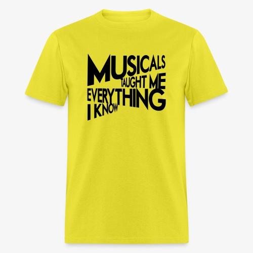 MTMEIK Black Logo - Men's T-Shirt