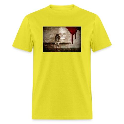 sad girl - Men's T-Shirt