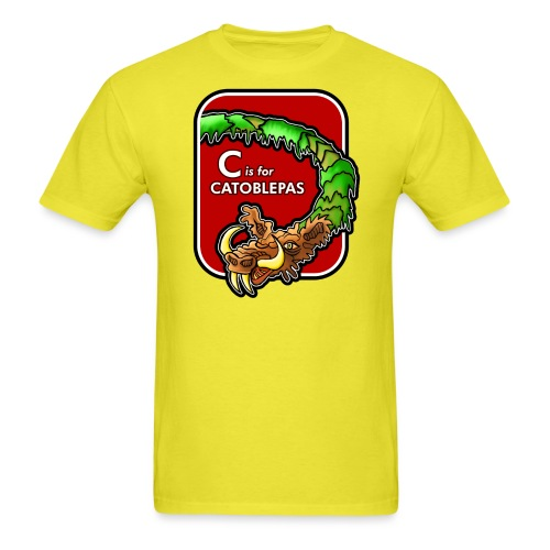 C is for Catoblebas - Men's T-Shirt
