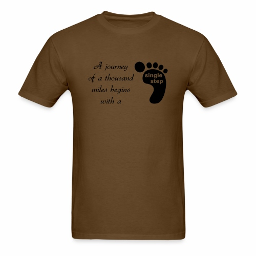 Single Step - Men's T-Shirt
