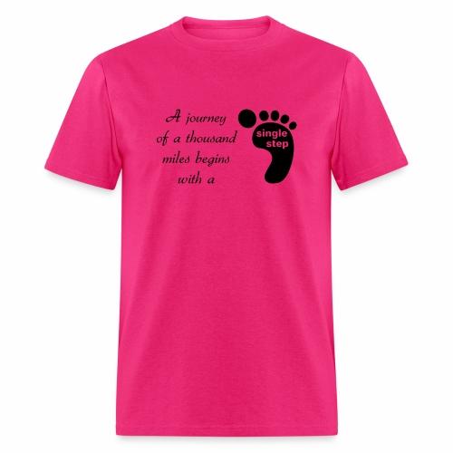 Single Step - Men's T-Shirt