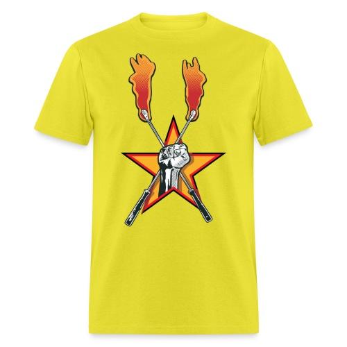 fisttorchlogo - Men's T-Shirt