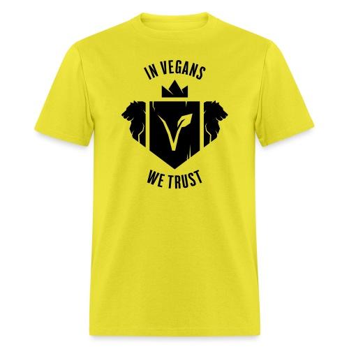 In Vegans We Trust 0C Fix Vector - Men's T-Shirt