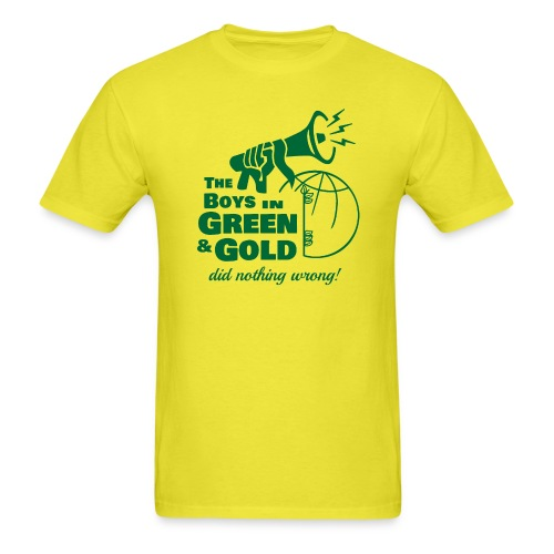The Boys in Green & Gold Did Nothing Wrong - Men's T-Shirt