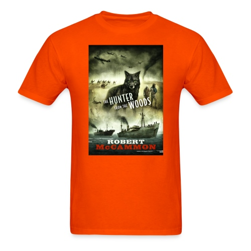 the hunter from the woods design - Men's T-Shirt