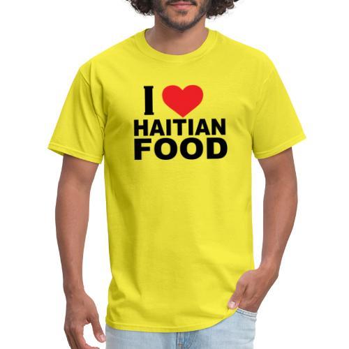 I Love Haitian Food - Men's T-Shirt