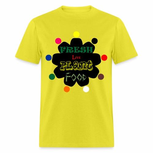 Vegan custom t shirt design - Men's T-Shirt