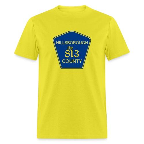 Hillsborough the813 County - Men's T-Shirt