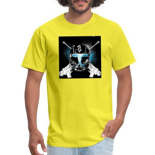 masked guns - Men's T-Shirt