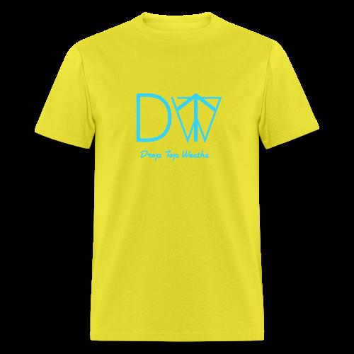 Drop Top Weatha logo Carolina Blue - Men's T-Shirt