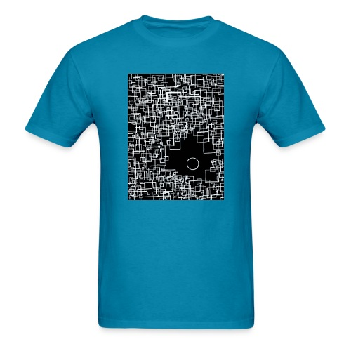 there is one out there negative - Men's T-Shirt