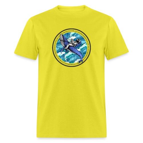 Astronaut Whale - Men's T-Shirt