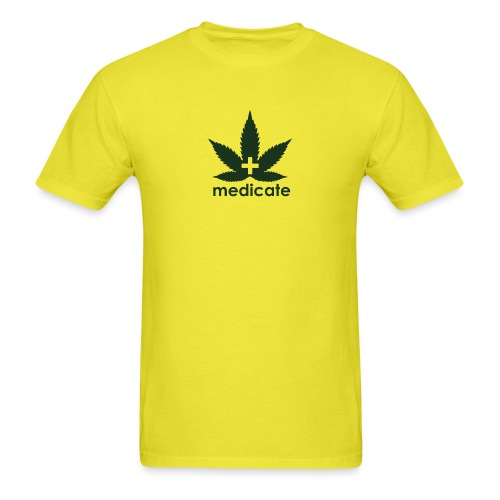 Medicate Supporter - Men's T-Shirt