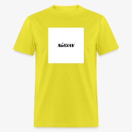 NuWAV Logo - Men's T-Shirt