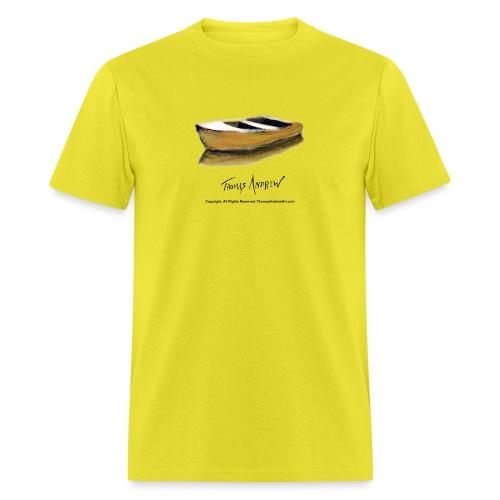 Yellow Boat Tshirt design - Men's T-Shirt