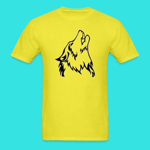 Wolf (back) - Men's T-Shirt