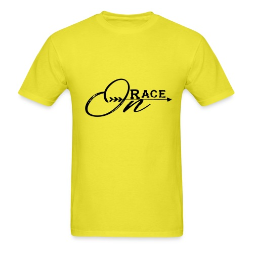 Race On BLACK - Men's T-Shirt