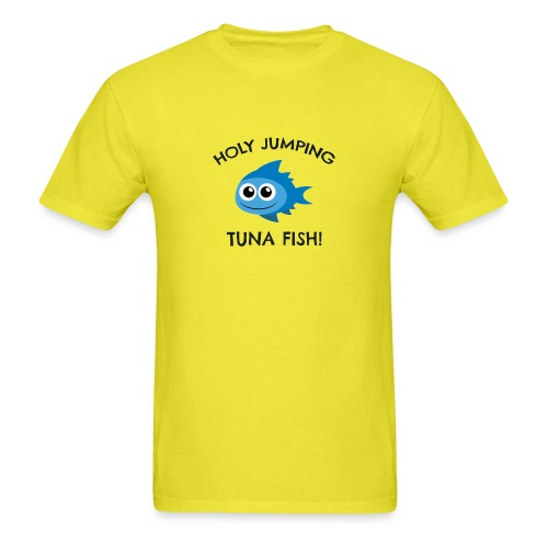 jumping tuna fish - Men's T-Shirt
