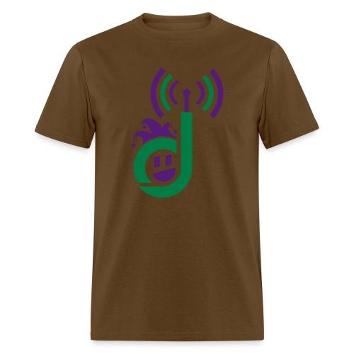 dementiaradiotshirt just d with face sm - Men's T-Shirt