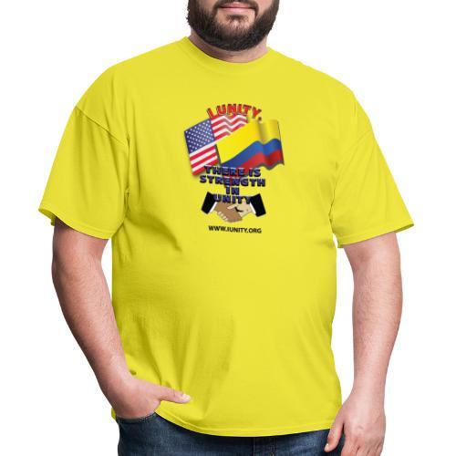 COLUMBIAN USA E02 - Men's T-Shirt