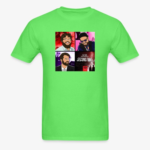 Second Take Cover - Men's T-Shirt