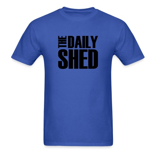 The Daily Shed Black - Men's T-Shirt