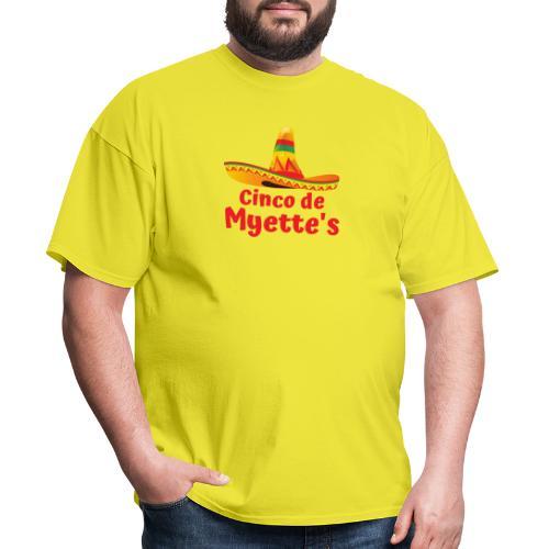Cinco de Myette's Hat Design - Men's T-Shirt