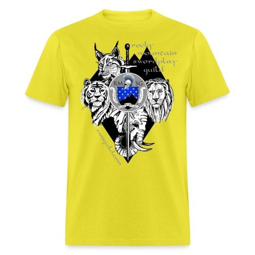 RMSG Fiore's Animals - Men's T-Shirt