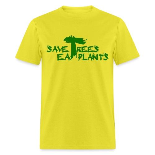 Eat plants, green - Men's T-Shirt